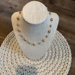 NEW Carolee Gold Ball Necklace
